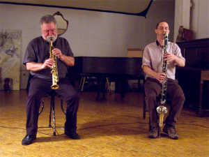 Evan Parker / Ned Rotheberg Duo