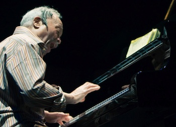 Photo of Cecil Taylor by Hans Speekenbrink